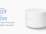 消灭信号死角,谷歌发布mesh自组网家庭智能路由器Google Wifi