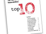 2012十大安全漏洞管理研究报告