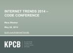 互联网女皇Mary Meeker2014互联网趋势报告的十个重点