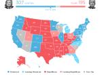 开启上帝视角,这张数据地图帮你随时掌握美国大选走势