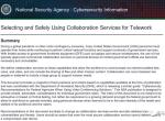 美国NSA发布对视频会议软件和聊天协作工具的安全评估报告