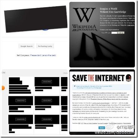 互联网大罢工