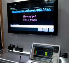 MWC2012-高通演示80211ac