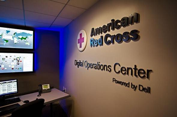 美国红十字会社交媒体指挥中心1
