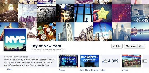 city-new-york-facebook-page-screenshot