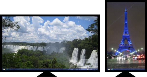 window8 多显示器背景个性化1