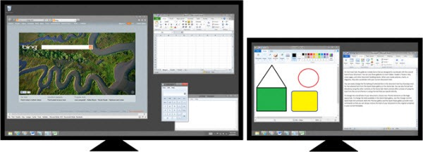 windows8多显示器任务栏设置1