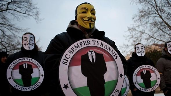 黑客-匿名组织
