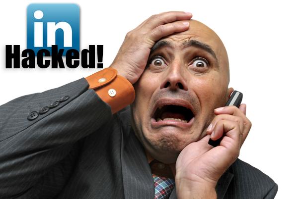 linkedin hacked-账户密码泄露