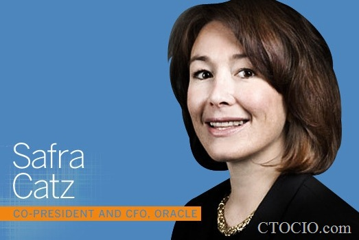 Safra Catz, copresident and CFO, Oracle