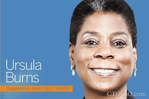 Ursula Burns chairman and CEO, Xerox