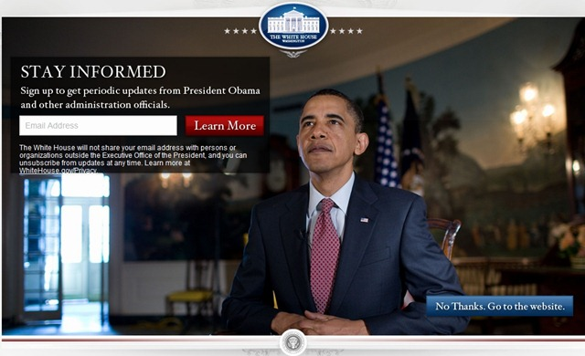 whitehouse homepage