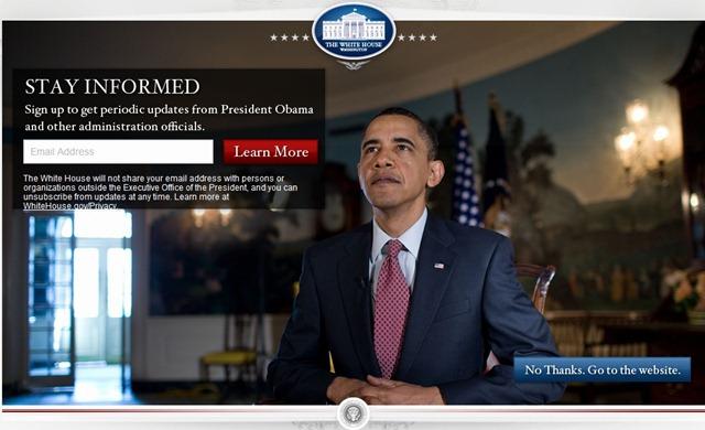 whitehouse homepage