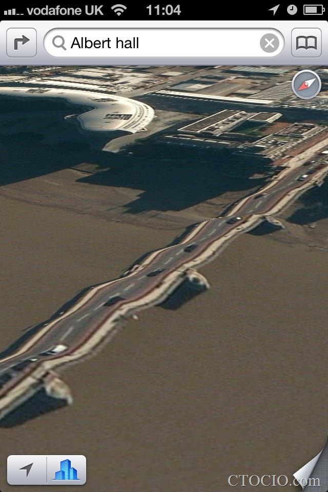 iOS6地图