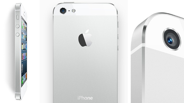 iphone5 白色机型图片