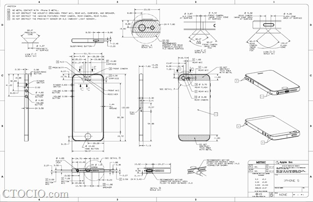 iphone5 blueprint 设计蓝图