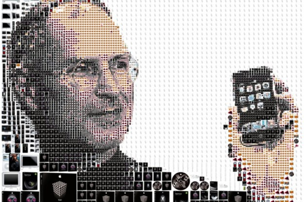 steve jobs -mosaic