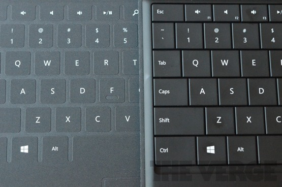 surface 键盘 touch over&type cover