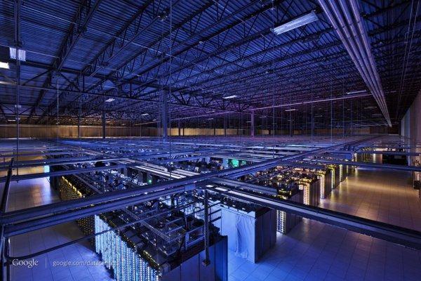 Google爱荷华州的Concil Bluffs数据中心