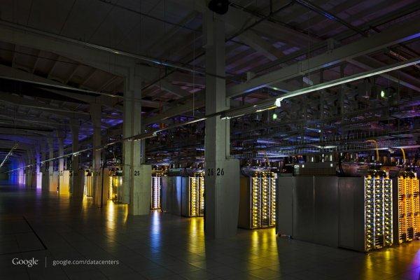 Hamina数据中心内部