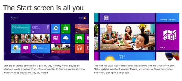Microsoft-windows 8 metro