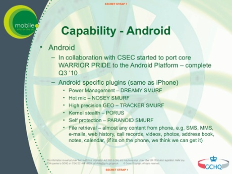 GCHQ-ANDROID