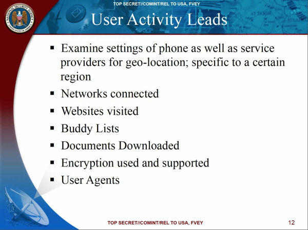 NSA个人监控
