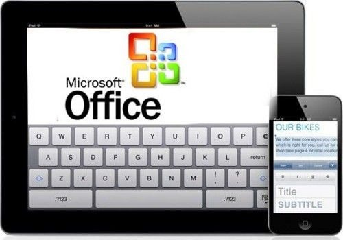 iOS-office-ipad