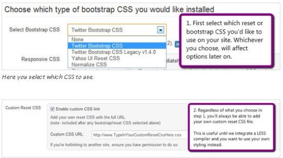 wordpress twitter bootstrap
