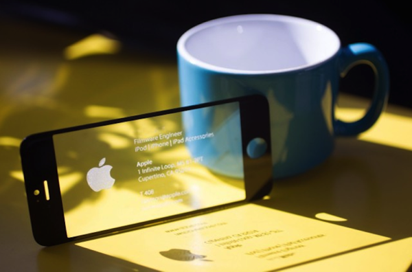 创意名片设计-iphone