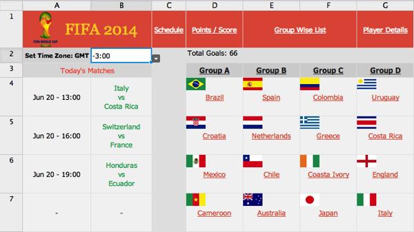 世界杯数据动态地图