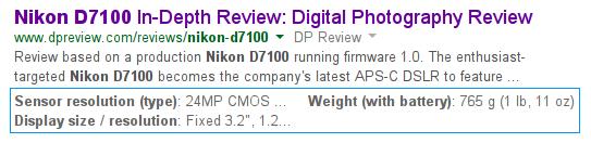 Nikon D7100 google