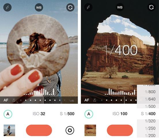 manual-camera-app iphone拍照