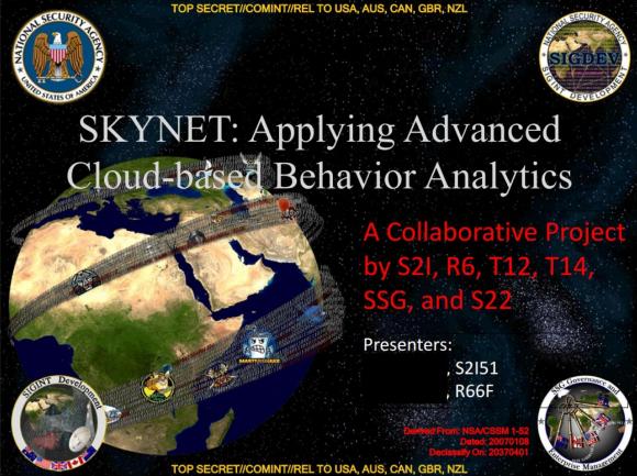 NSA天网计划Skynet
