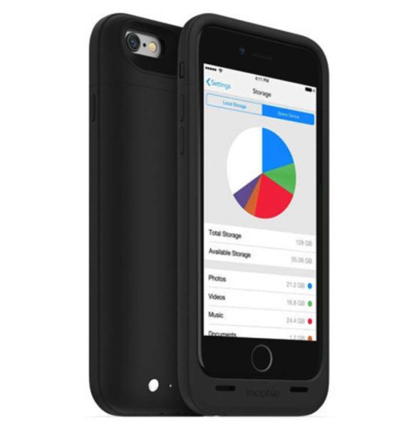 带存储扩展的iPhone电池背夹-Mophie