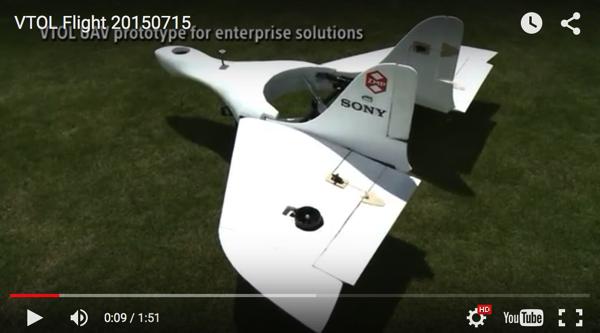 索尼无人机aerosense