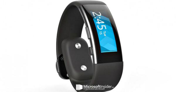 微软第二代智能手环