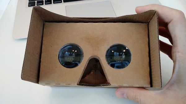 Google虚拟现实头盔Cardboard