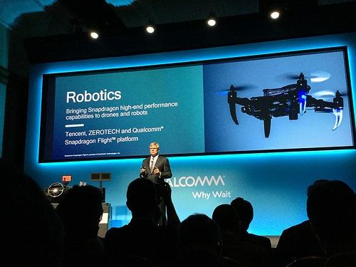 高通、腾讯、零度智控推出商用无人机