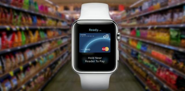Apple Pay Apple Watch移动支付