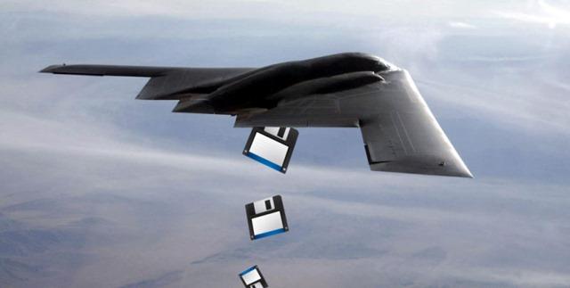 美国国防部核指令系统依然使用8英寸软盘