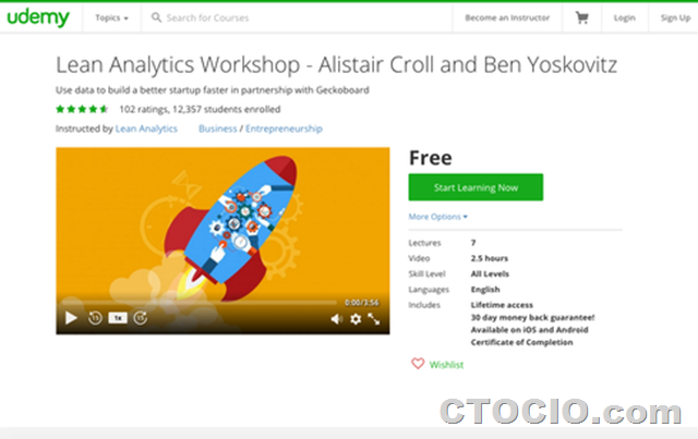 精益分析Lean-Analytics-workshop-Udemy