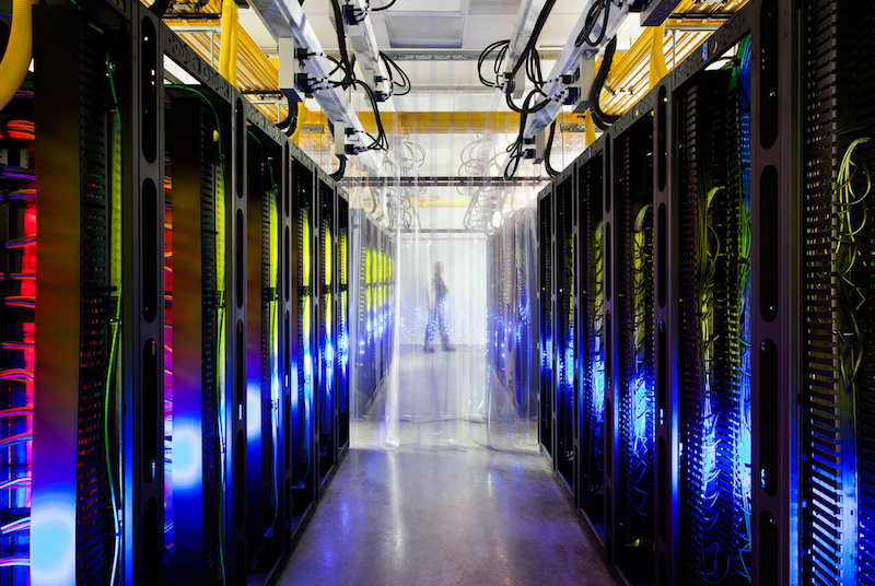 谷歌AI人工智能数据中心