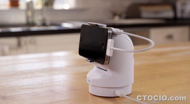presence-360-智能手机视频监控机器人