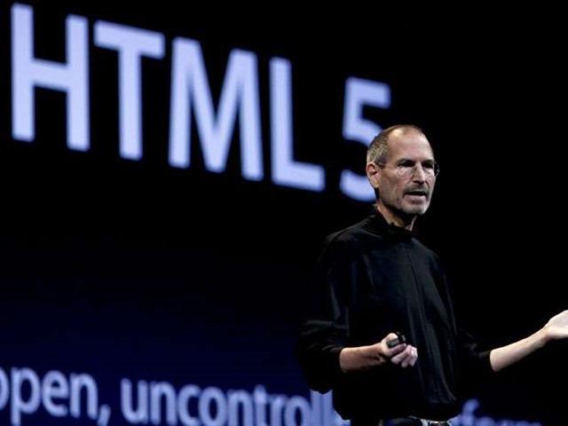 乔布斯 HTML5