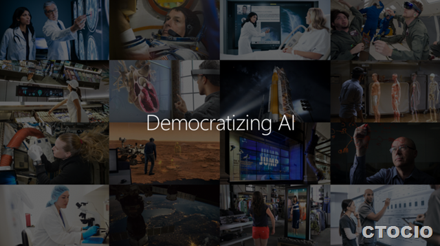 人工智能民主化democratizing AI