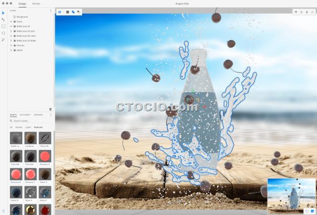 project felix adobe 3D编辑软件