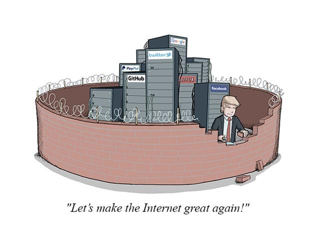 特朗普互联网新政,网络安全政策