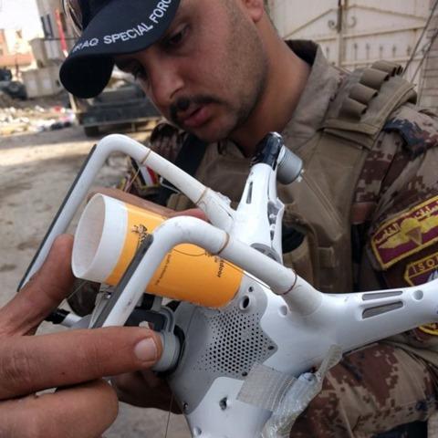 大疆无人机被ISIS改装