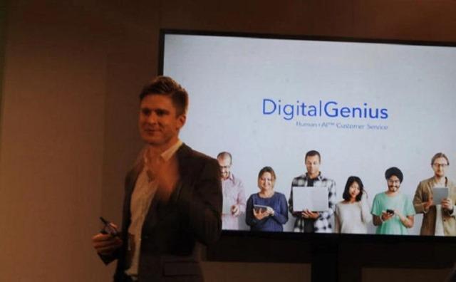 Digital Genius cofounder Mikhail Naumov.